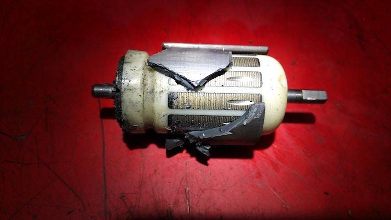неисправный топливный насос bmw e60